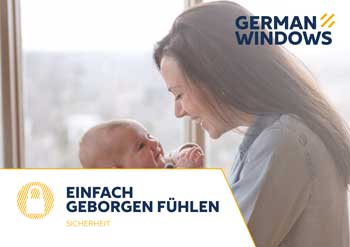 German Windows - Ausstattungsflyer Sicherheit